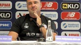 Наставник Славії Трпішовскі: Проти Динамо хотіли б менше захищатися та більше атакувати