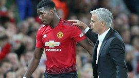 """""""Если ты хочешь уйти из Манчестер Юнайтед, скажи клубу"""", – Моуринью """"наехал"""" на Погба из-за возможного ухода игрока"""