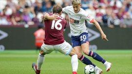 Вест Хэм – Борнмут – 1:2 – видео голов и обзор матча