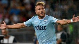 Лацио – Наполи: Иммобиле забил блестящий гол, убрав шикарным финтом сразу 3-х защитников
