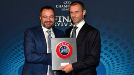 ФФУ поддержит Чеферина на выборах президента УЕФА