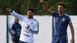 Скалони: Мы пока не говорили с Месси о его будущем в сборной Аргентины