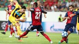 Лига чемпионов, плей-офф: АЕК обыграл Видеотон, Янг Бойз и Динамо Загреб расписали ничью