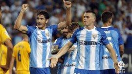 Бланко Лещук забив переможний гол за Малагу