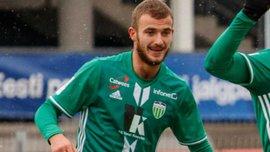 Дебелко забил свой 22-й гол за Левадию в чемпионате Эстонии