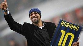 Адриано: Во время выступлений за Интер я пил все, что попадало мне в руки