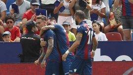 Леванте отобрал очки у Валенсии