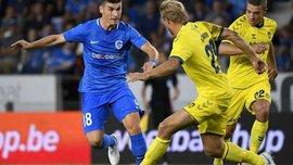 Маліновський забив черговий гол за Генк і отримав вилучення, команда розписала результативну мирову з Кортрейком