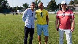 Шевченко посетил любительский клуб