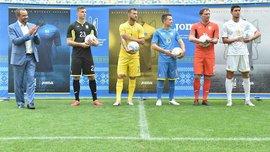 """На новой форме сборной Украины будет написано """"Слава Украине"""""""