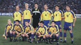 Рівно 20 років тому Україна перемогла Росію у феєричному матчі – ретро дня