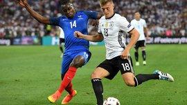 Германия – Франция – 0:0 – видеообзор матча