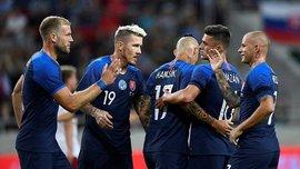 Словакия разгромила сборную Дании, составленную из футболистов третьего дивизиона