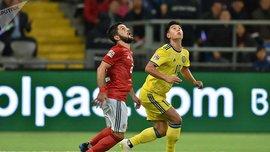 Казахстан – Грузия – 0:2 – видео голов и обзор матча