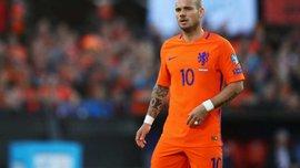 Снейдер провел прощальный матч за сборную Нидерландов