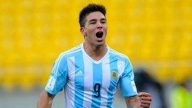 Симеоне-младший забил гол в дебютном матче за Аргентину