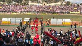 На Мадагаскаре фанат погиб из-за давки на стадионе, еще 37 получили повреждения