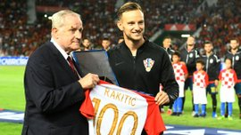 Ракитич провел 100-й матч за сборную Хорватии