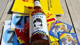 В Ізраїлі випустили пиво на честь українського футболіста Надуди