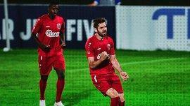 Украинский форвард Ковталюк сделал дубль в ворота Погорелого в чемпионате Грузии