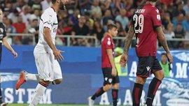 Кальяри и Милан расписали результативную ничью: 4 тур Серии А, матчи воскресенья
