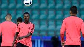 Винисиус забил 3-й гол в двух матчах за резервную команду Реала