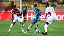 Лига чемпионов: Атлетико в напряженном матче одолел Монако, Боруссия Д обыграла Брюгге