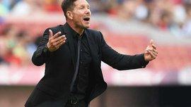 Симеоне: Главной была реакция игроков Атлетико на пропущенный мяч