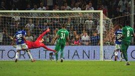 Фиорентина и Сампдория не выявили сильнейшего в матче за Лигу чемпионов
