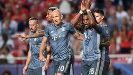 Бенфика – Бавария – 0:2 – видео голов и обзор матча