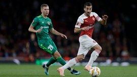 Арсенал – Ворскла: Мхитарян получил травму и может не сыграть с Эвертоном