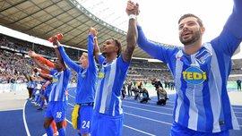 Герта установила уникальный рекорд по назначенным пенальти в Бундеслиге