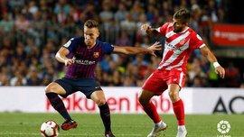 Барселона сенсационно потеряла очки в дерби против Жироны