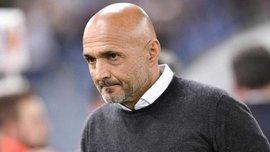 Спаллетти дисквалифицирован на один матч чемпионата Италии из-за празднования гола