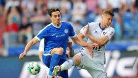 Качараба забил за Слован в чемпионате Чехии