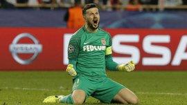 Монако объявил заявку на матч с Боруссией – Субашич может сыграть первый матч в сезоне