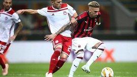 Ліга Європи: Арсенал розгромив Карабах, Мілан здійснив неймовірний камбек у матчі з Олімпіакосом