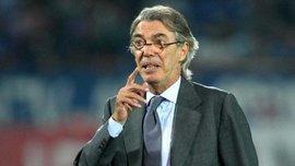 Моратти отказался баллотироваться на пост главы Федерации футбола Италии