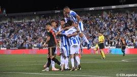 Леганес без Лунина одержал минимальную победу над Райо Вальекано: 8 тур Ла Лиги, матчи субботы