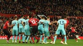 Манчестер Юнайтед вырвал победу в матче с Ньюкаслом 8 тур АПЛ, матчи субботы