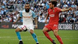 Лига 1: Соперник Динамо в ЛЕ Ренн в большинстве одолел Монако, Марсель обыграл Кан
