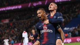 ПСЖ – Лион – 5:0 – видео голов и обзор матча