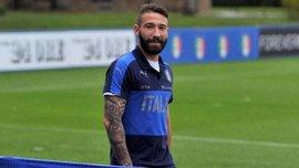 Италия - Украина: Манчини вызвал Тонелли и Пиччини вместо травмированных игроков