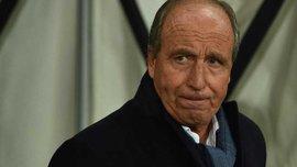 Кьево уволил Д'Анну, команду возглавит экс-тренер сборной Италии Вентура