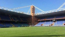 Италия – Украина: газон на стадионе Луиджи Феррарис готовят к матчу