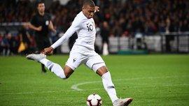 Мбаппе – первый футболист в истории сборной Франции, которому удалось забить 10 голов до исполнения 20 лет