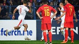 Черногория – Сербия – 0:2 – видео голов и обзор матча