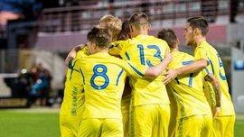 Сборная Украины U-21 одержала победу над Шотландией