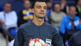 Украинская бригада арбитров получила назначение на матч Лиги наций