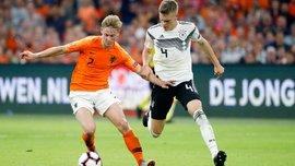 Нидерланды дома разгромили Германию в Лиге наций